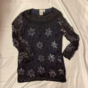 Papéll Boutique Sequin Dress Blouse